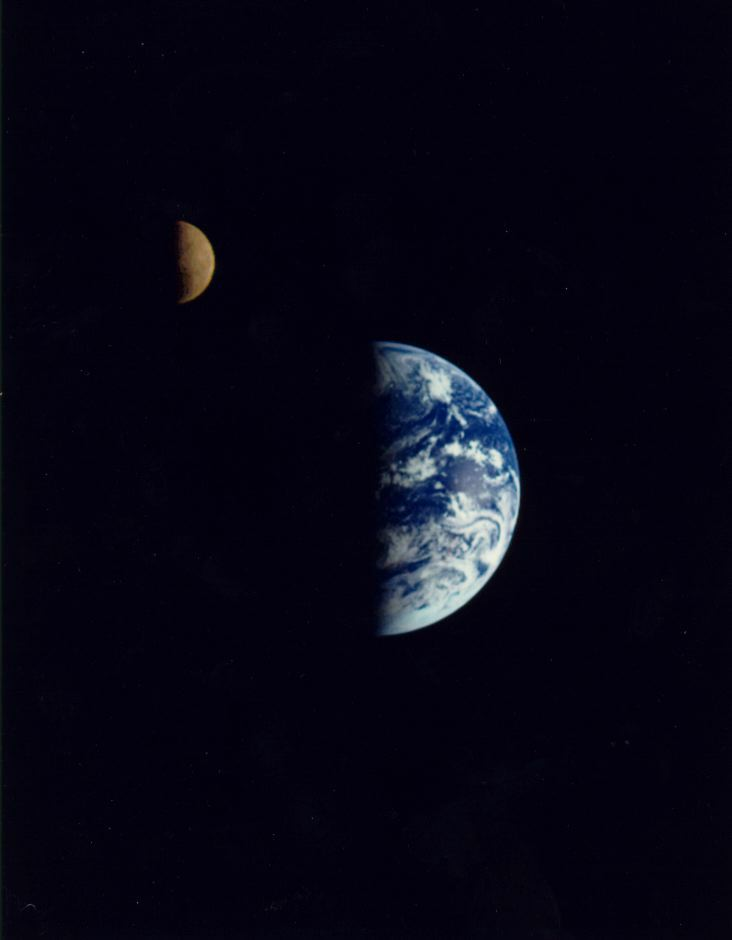 earth and moon together - photo #16