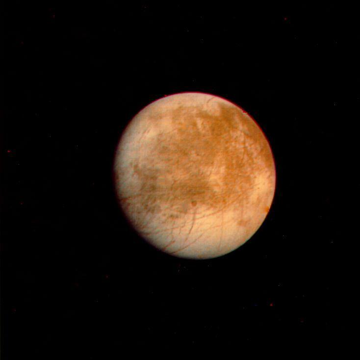 The Jupiter moon Europa, image by NASA