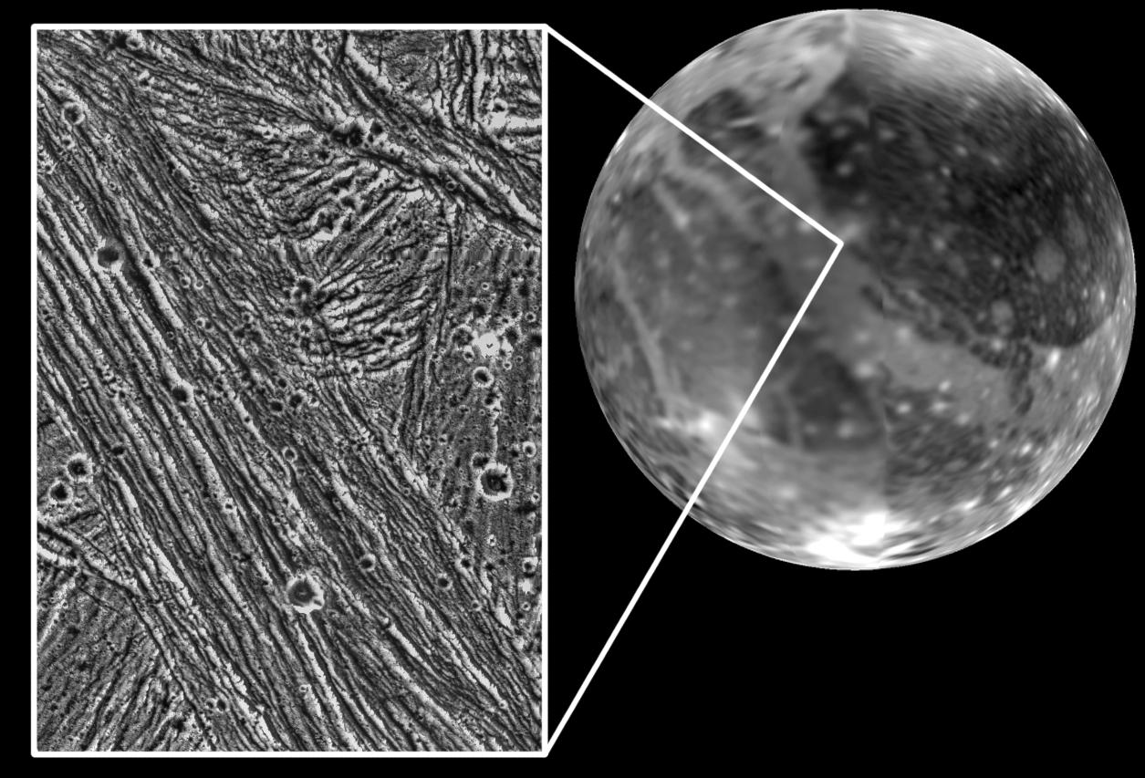 NSSDCA Photo Gallery: Ganymede