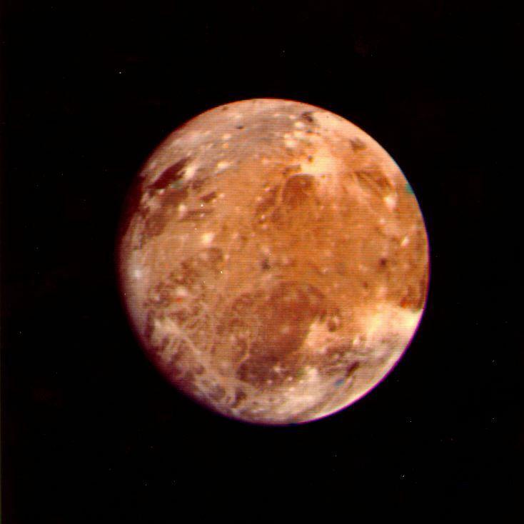 Ganimede foto Voyager, NASA/JPL
