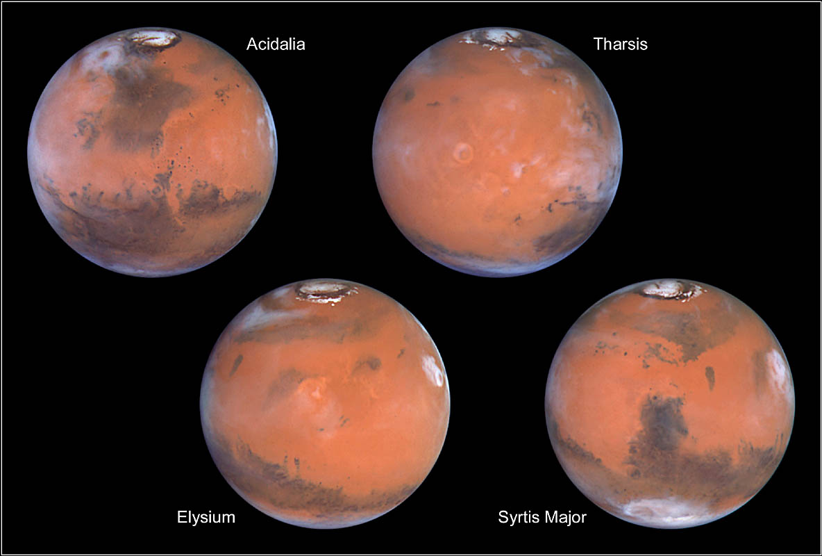color of mars planet - photo #27