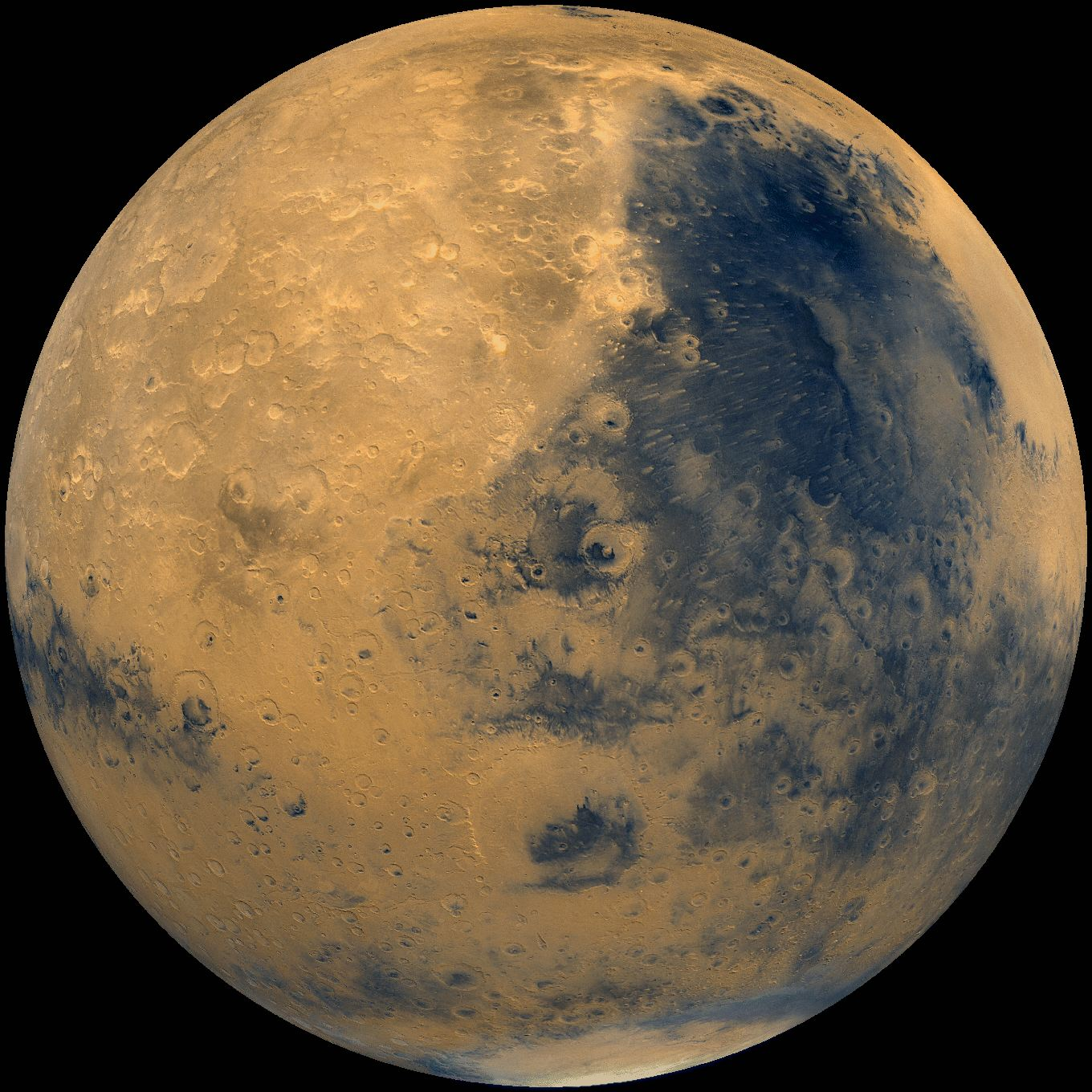 Global mosaic of Mars. Syrtis Major region. Reproduced from Volume 14 ...