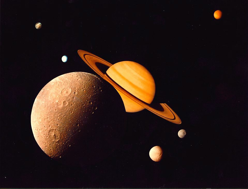 the biggest planet is saturn - photo #32