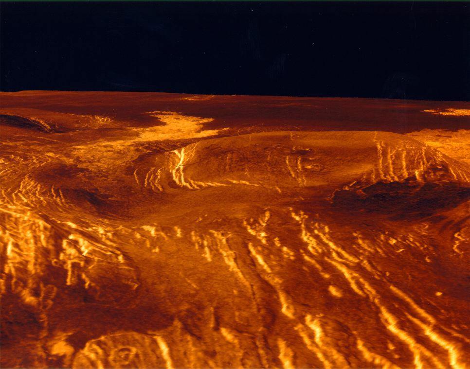 venus surface nasa - photo #16