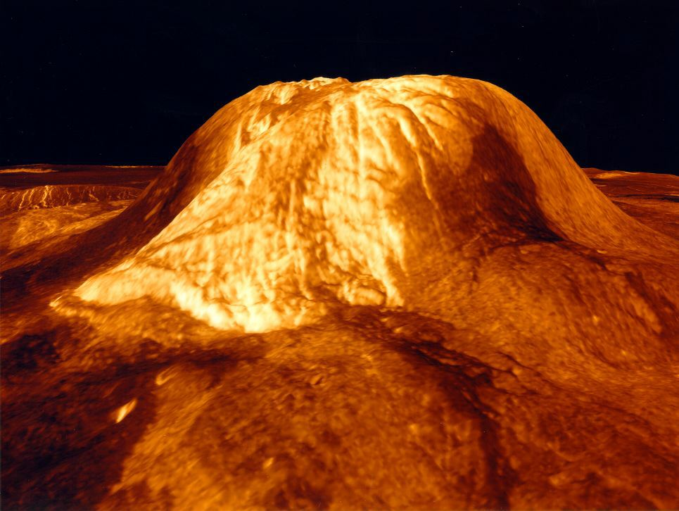 venus volcanoes nasa - photo #13