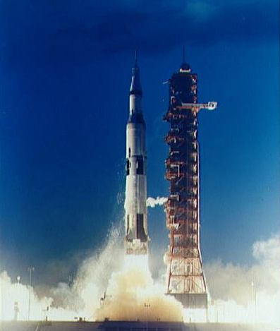 Image of the Apollo 4 spacecraft