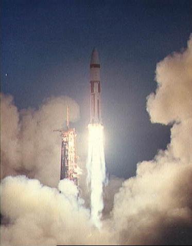 Nasa nssdca spacecraft details image of the apollo 5 spacecraft sciox Image collections