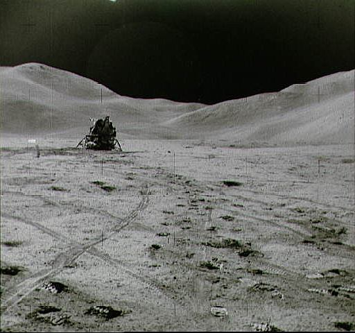 Apollo 15 Lunar Module and ALSEP on the Moon, NASA photo apollo_15_lm.jpg