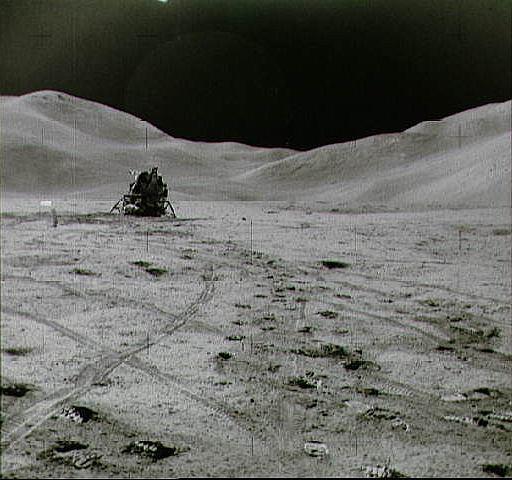 Apollo 15 Lunar Module and ALSEP on the Moon, NASA photo apollo_15_lm.jpg