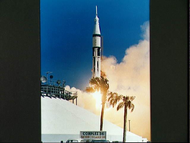 Image of the Apollo 7 spacecraft