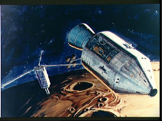 Nasa nssdca spacecraft details image of the apollo 16 subsatellite spacecraft sciox Image collections