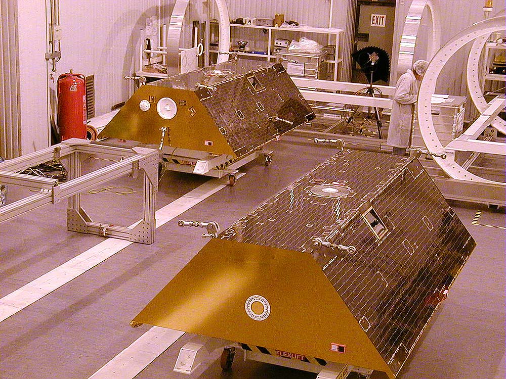 Nasa nssdca spacecraft details image of the grace 2 spacecraft sciox Image collections