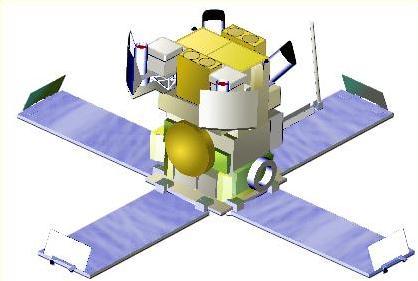 High Energy Transient Explorer 2 (HETE-2), designed to detect cosmic gamma-ray bursts, NASA artwork hete_2.jpg