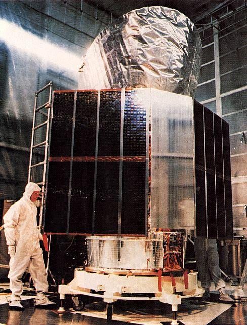 IRAS infrared telescope satellite, NASA photo iras.jpg