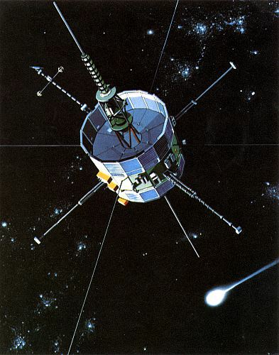 Artist's concept of ICE encountering a comet, NASA artwork isee3.jpg