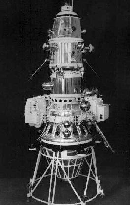 USSR Luna 10, the first manmade spacecraft to orbit the Moon photo courtesy of NASA luna10.jpg