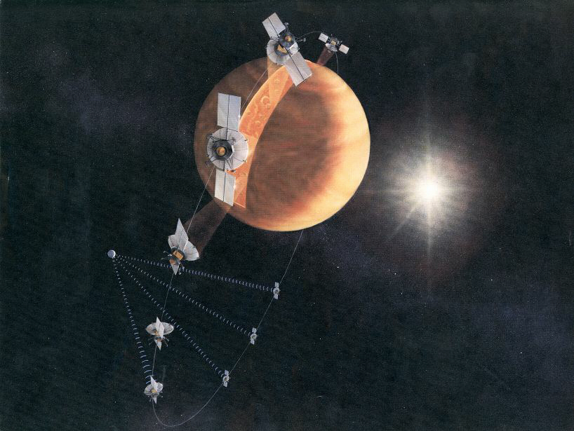 Magellan's mapping orbit around Venus, NASA illustration magellan_orbit.jpg