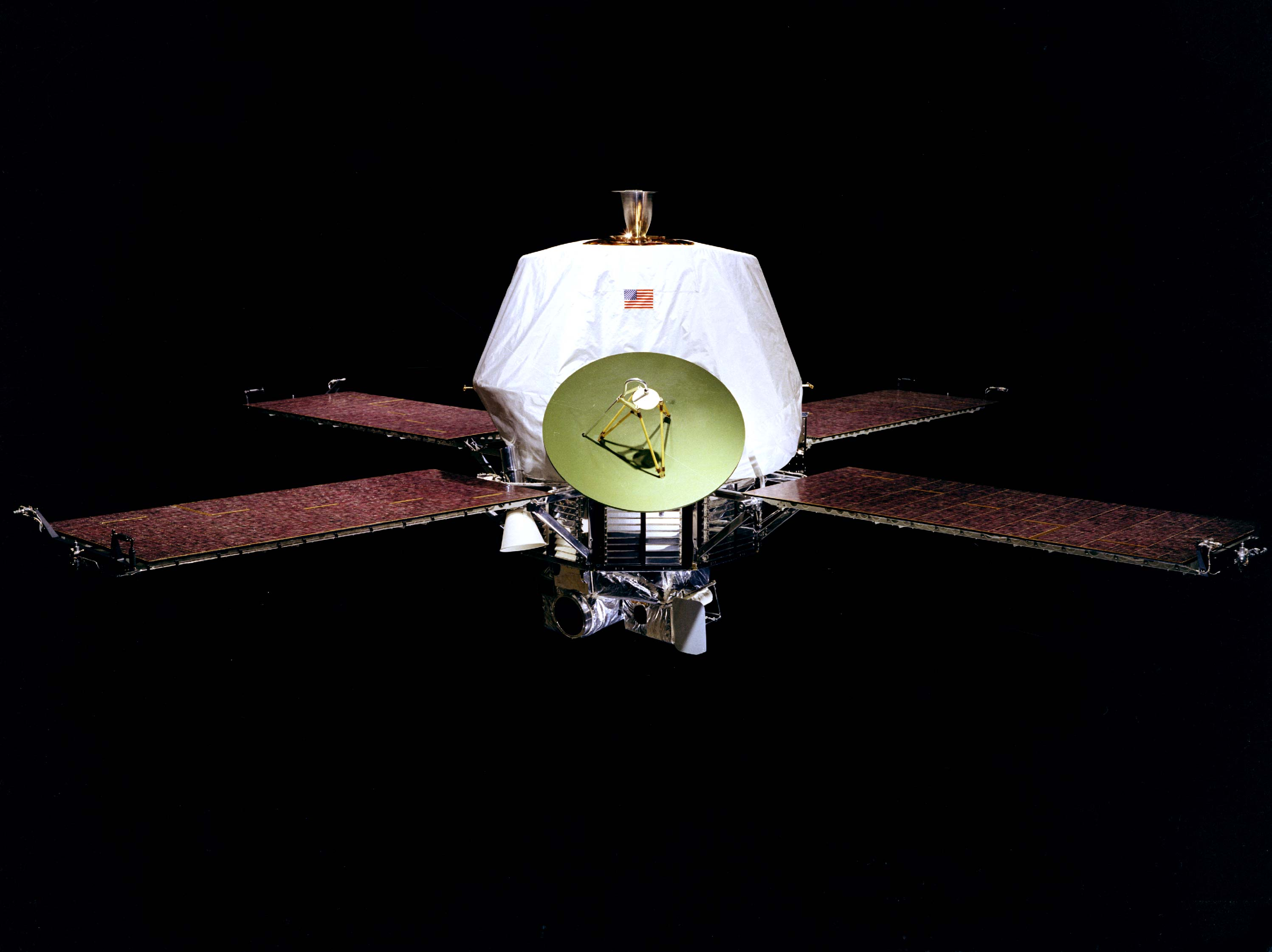 Nasa nssdca spacecraft details image of the mariner h spacecraft sciox Image collections