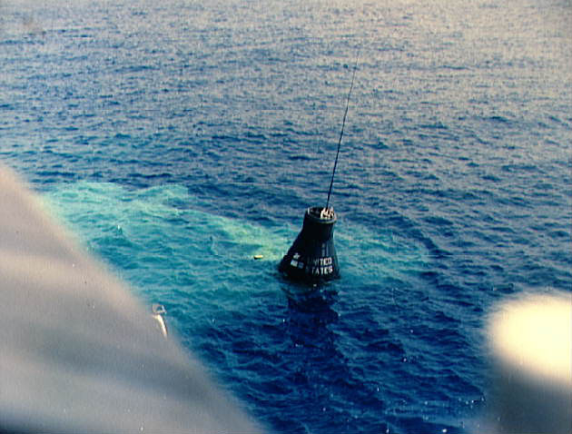 Mercury Redstone 4 after splashdown in the Atlantic Ocean, NASA photo mercury_redstone_4.jpg