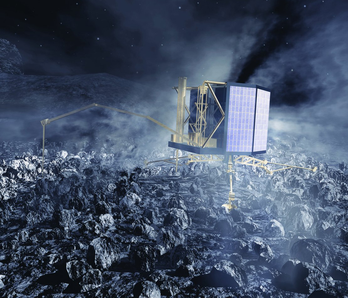 philae comet lander nasa - photo #26