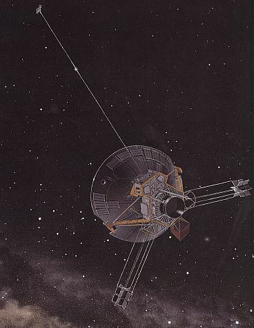 Pioneer 11 traveling in space, NASA artwork pioneer10-11.jpg