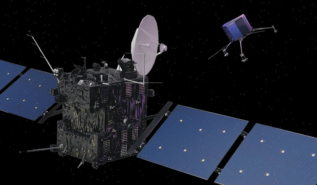 Nasa nssdca spacecraft details image of the rosetta spacecraft sciox Image collections