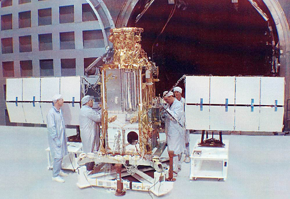 US NRO STEX (Space Technology EXperiments) satellite, NASA photo stex.jpg