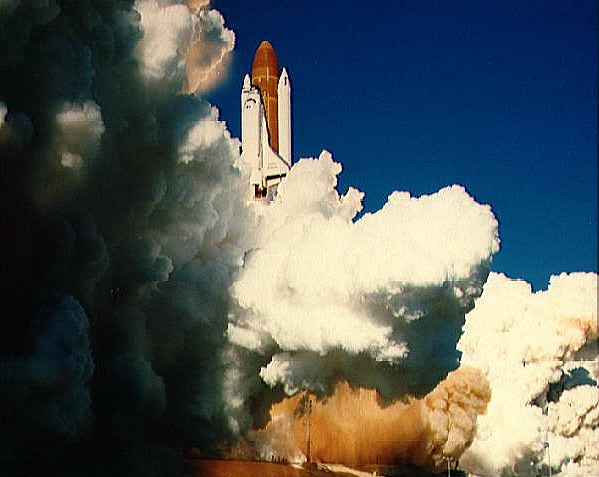 Nasa nssdca spacecraft details image of the challenger spacecraft sciox Image collections