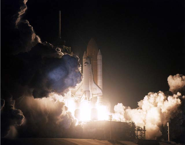 Image result for sts-82 launch