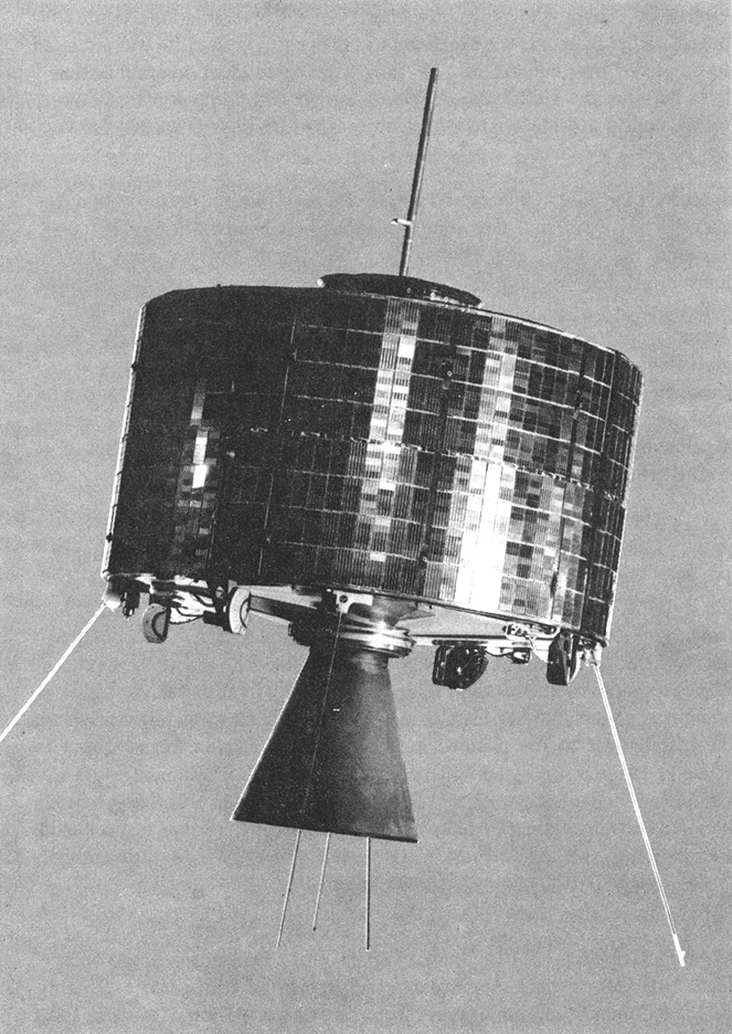 Syncom 2, the first geosynchronous satellite, NASA photo syncom.jpg