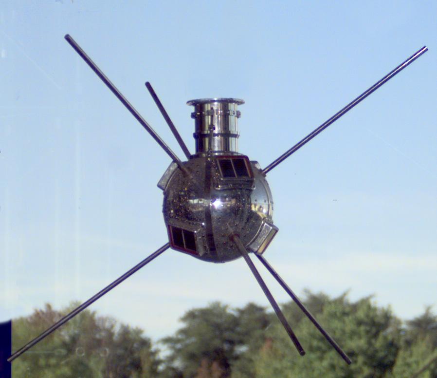 Image of the Vanguard 1 spacecraft