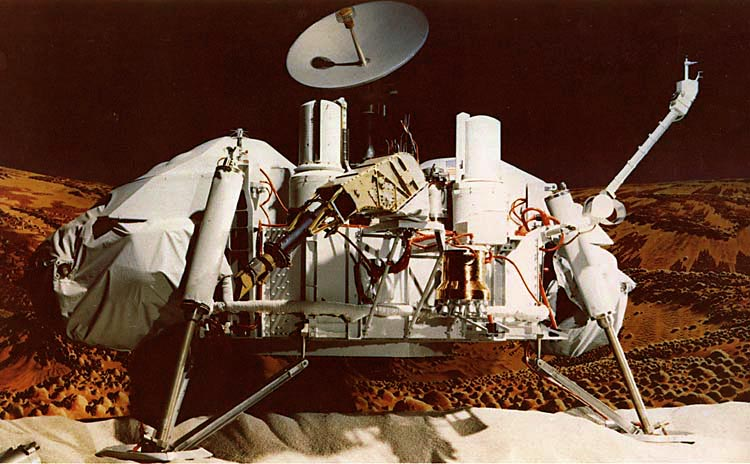 Viking Mars lander model, NASA photo viking_lander_model.jpg