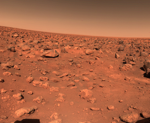 First color image of Utopia Planitia