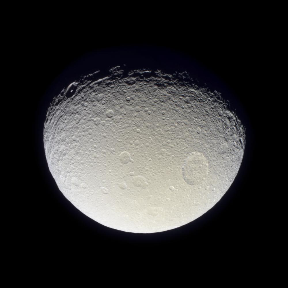 Cassini Images Phoebe Moon Of Saturn