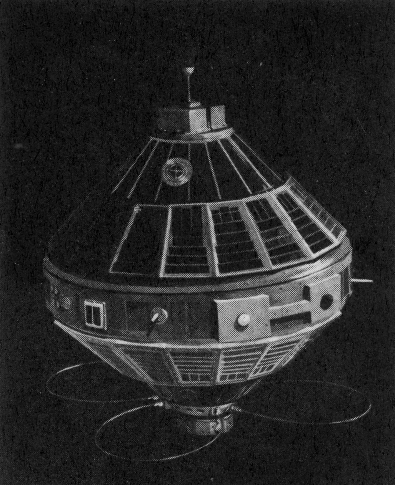 Nasa nssdca spacecraft details image of the explorer 7 spacecraft sciox Image collections