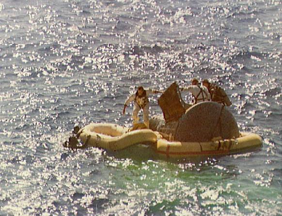 Image result for gemini 5 splashdown