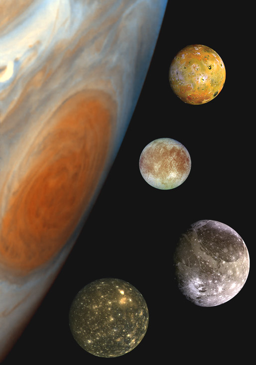 nasa planets with moons - photo #26