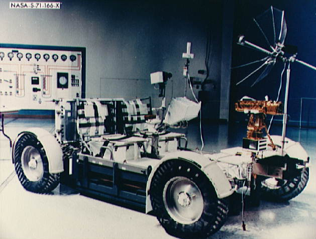 The Apollo Lunar Roving Vehicle