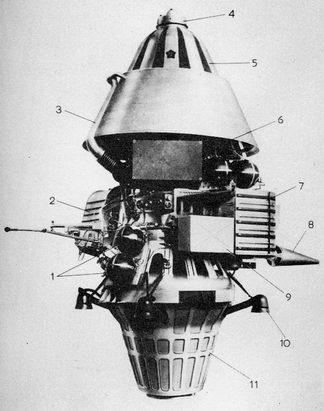 Luna Spacecraft - Pics about space