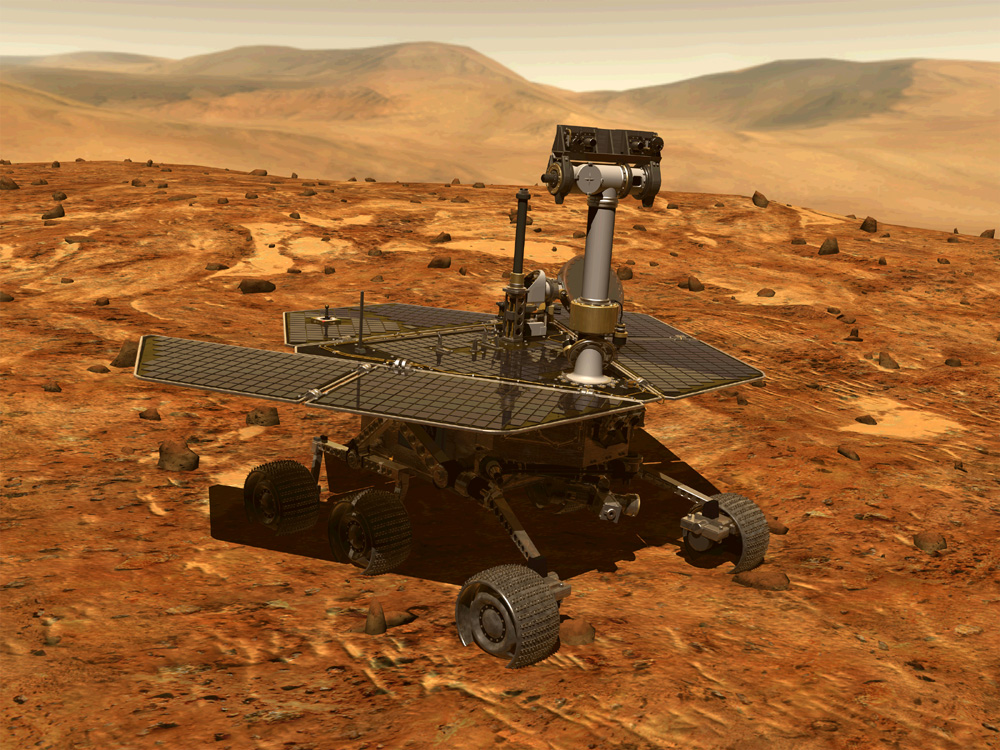 mars rover spirit - photo #7