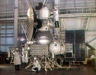 USSR Mars 1969B probe in assembly, photo courtesy of NASA Source: NSSDCA Master Catalog mars_1969.jpg