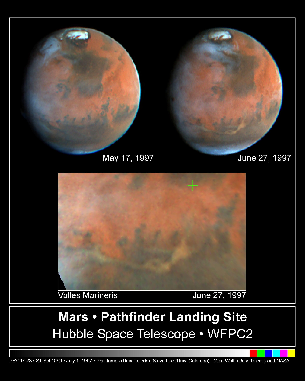 Mars Hubble Telescope Telescope Images of Mars