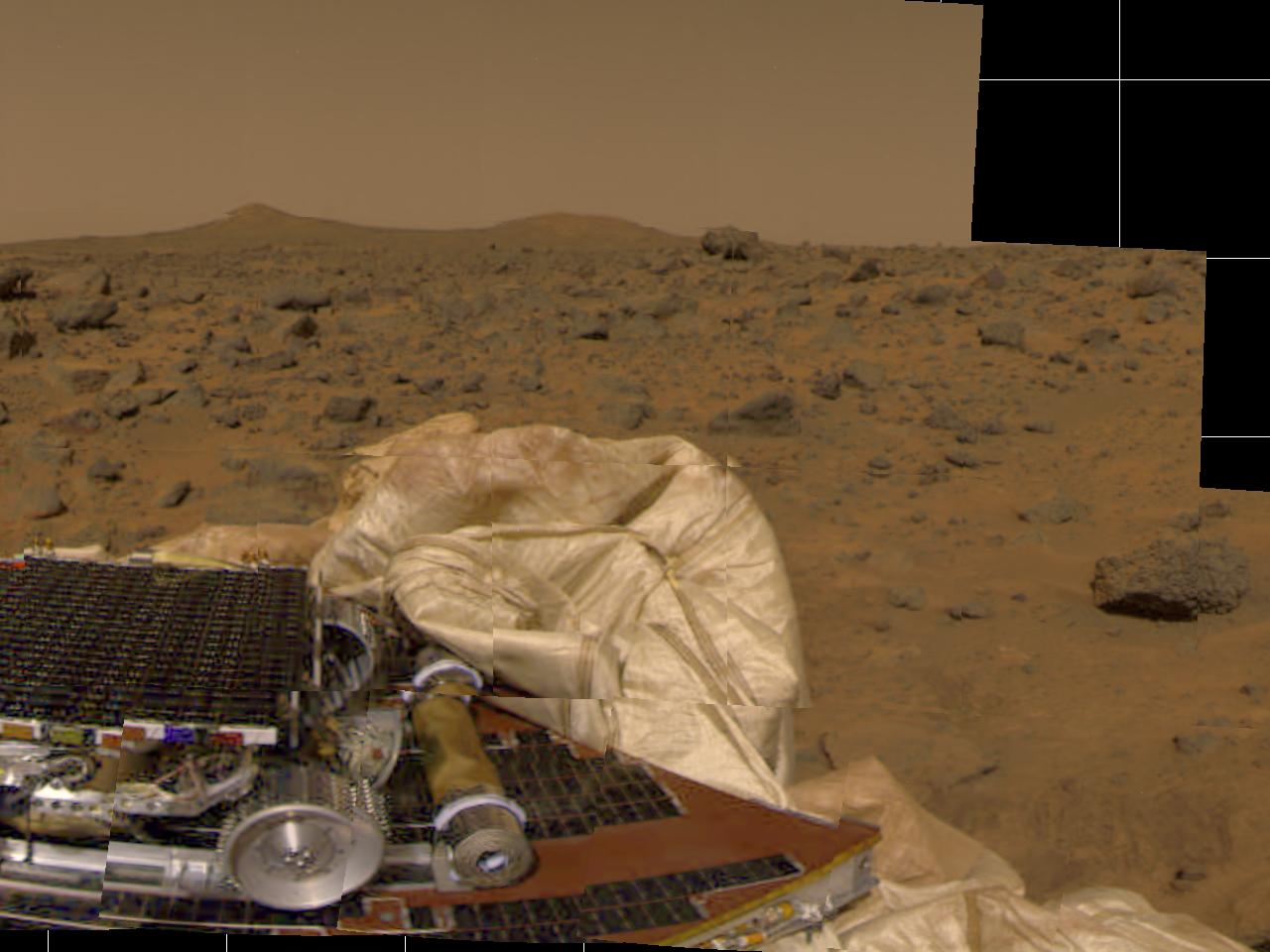 Mars Pathfinder Historical Images