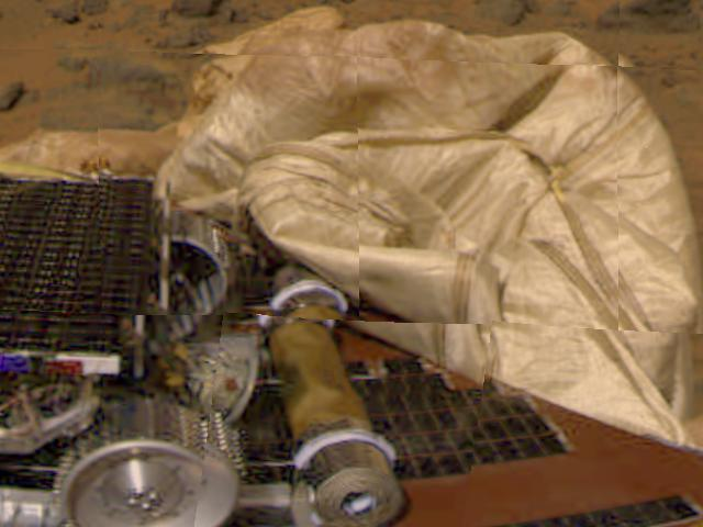 1997 nasa pathfinder airbags - photo #1