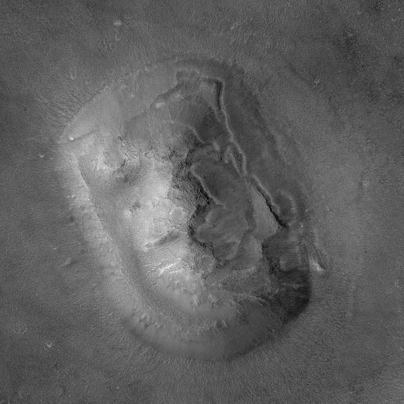 The Face on Mars at high resolution