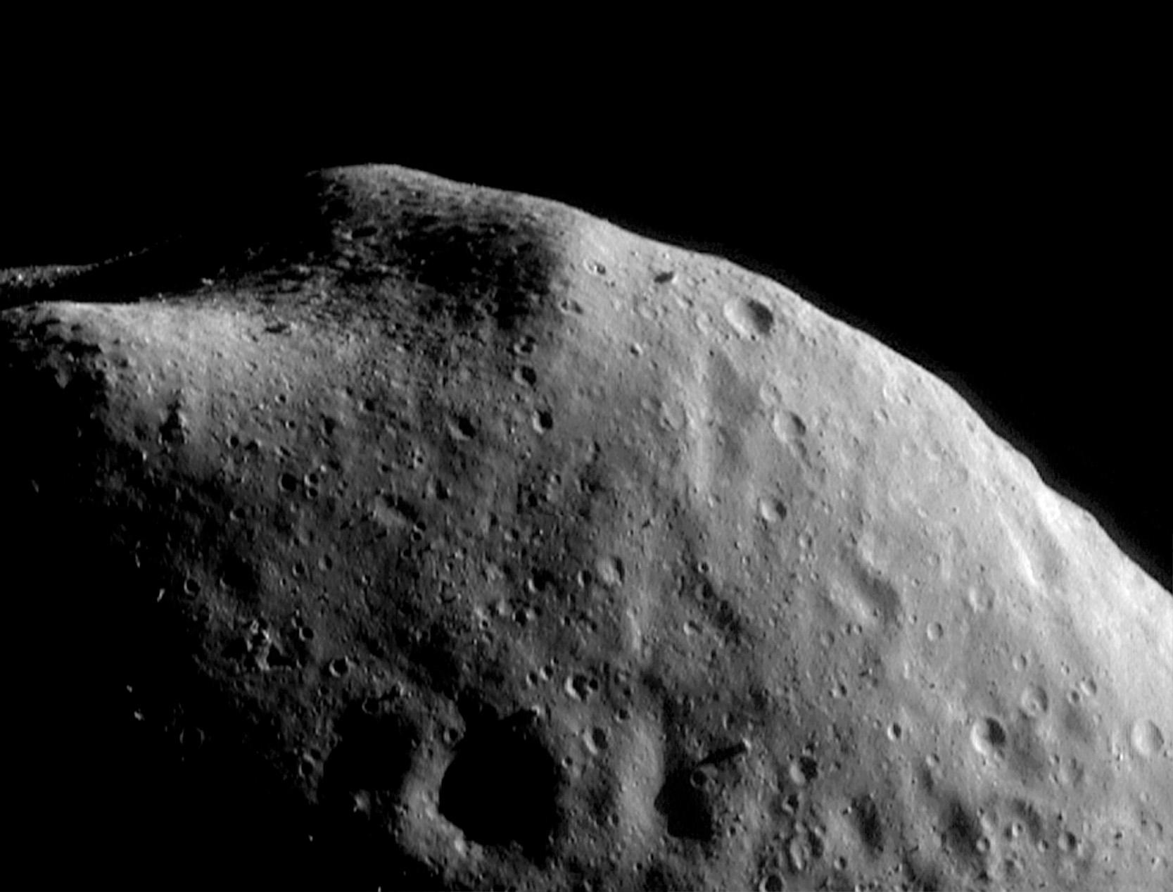 Eros Asteroid Nasa images