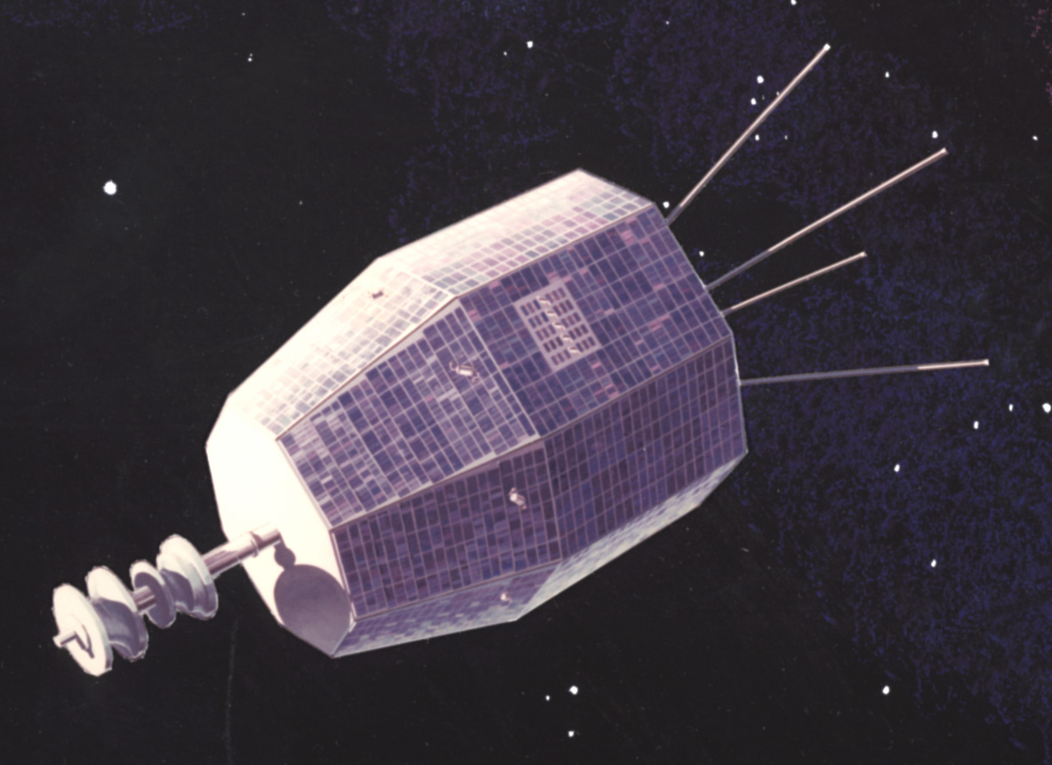 Nasa nssdca spacecraft details image of the relay 1 spacecraft sciox Image collections