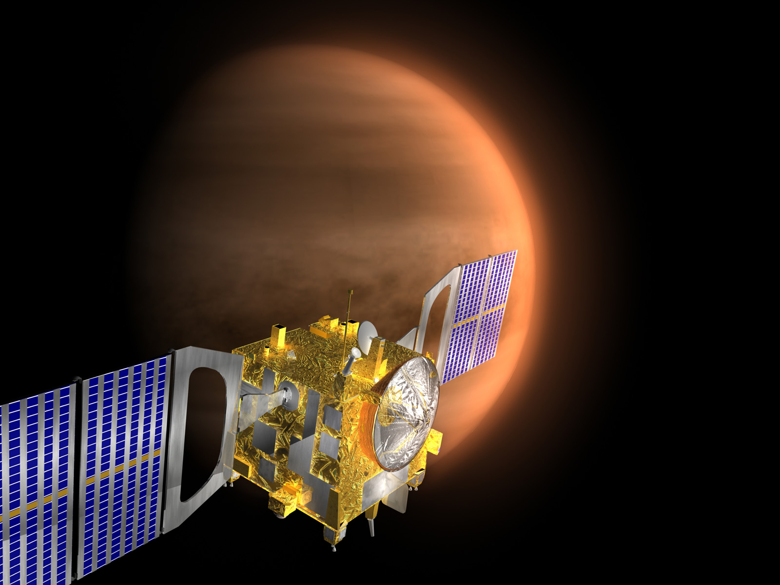 Nasa nssdca spacecraft pdmp details image of the venus express spacecraft sciox Image collections
