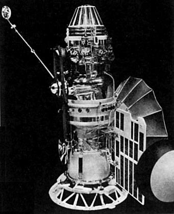 USSR Zond 1 Venus flyby probe, photo courtesy of NASA zond_1.jpg