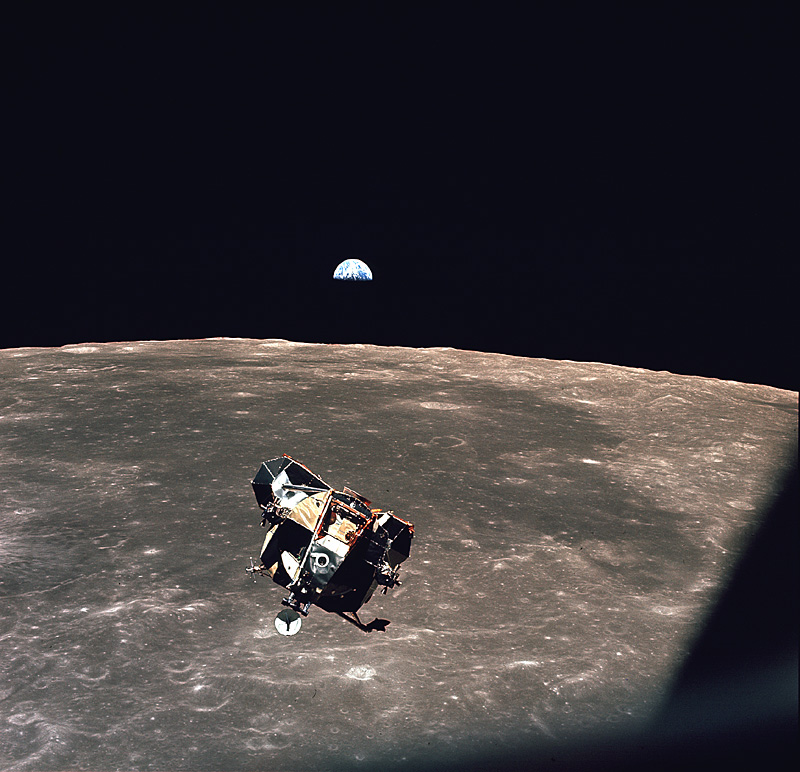 apollo 11 landing site earth - photo #32